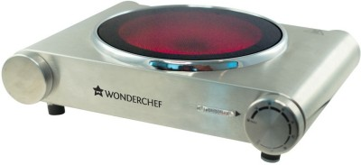 Wonderchef Ceramic Hot Plate Induction Cooktop(Silver, Touch Panel) at flipkart