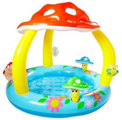 Intex Mushroom Inflatable Pool(Blue, Yellow, Red)
