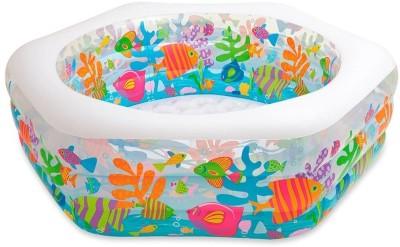 Intex Ocean Reef Pool Inflatable Pool(Multicolor)
