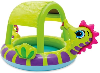 Intex Seahorse Baby Pool Inflatable Pool(Multicolor)