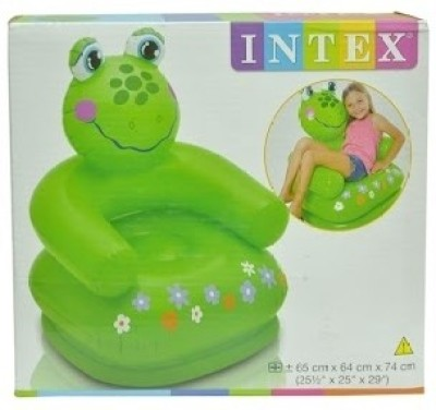 Intex Frogy Inflatable Chair(Green)