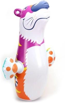 Yash Novelty Bear For Kids Inflatable Hit Me(White)  available at flipkart for Rs.699