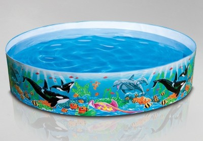 Intex Snapset Inflatable Pool(Multicolor)
