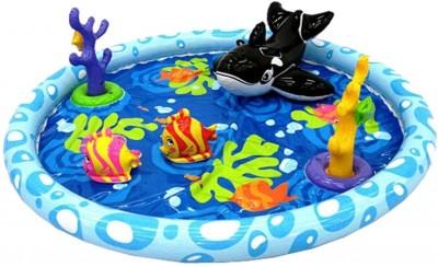 Intex Kidzone Inflatable Beach Toys & Play Sets(Blue)
