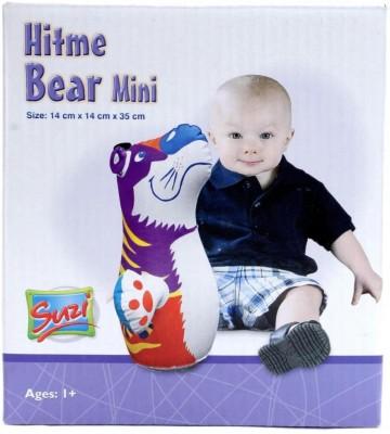 Suzi Hitme Bear Mini Inflatable Soft(Multicolor)