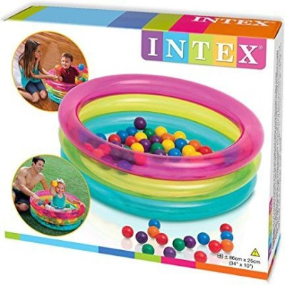 Intex Baby Ball Pit Inflatable Pool(Multicolor)