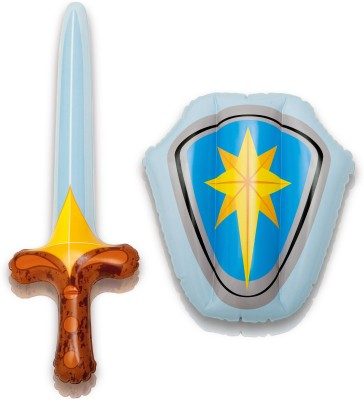 Intex Sword And Shield Inflatable Play Set(Blue)
