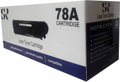 SR Toners CE278A Single Color Toner(Black)