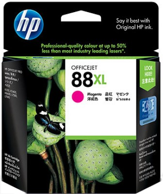 HP 88XL Magenta Officejet Ink Cartridge(Magenta)