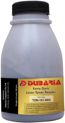 Dubaria Extra Dark Powder For Samsung 101 / MLT-D101s Black Toner Cartridge - 80 Grams Bottle Single Color Toner(Black)