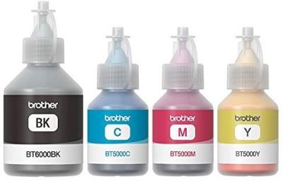 50% OFF on Brother BT5000 & BT6000BK Genuine Ink Bottles colour For Brother T300,