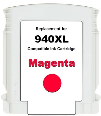 Dubaria 940xl / C4908aa Cartridge - Hp Compatible For Use In Officejet Pro 8000 Enterprise Printer - A811a ,8000 - A809a ,8500 -A909b Single Color Ink(Magenta)