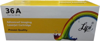 Lipi 36A Single Color Ink Toner(Black) at flipkart