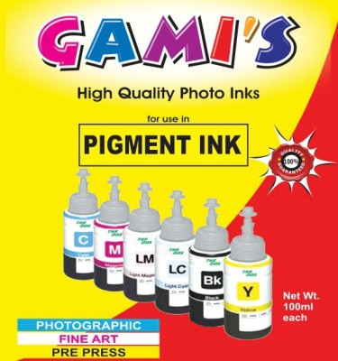 DDS Professional Pigment Ink 100 Ml X 6 Colours For Inkjet Printer Tri Color Ink Cartridge DDS Ink Cartridges