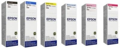 Epson Epson L 800 Multi Color Ink(Black, Magenta, Cyan, Yellow)