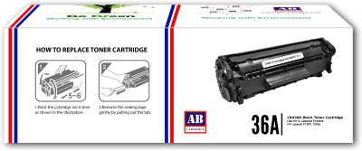 AB Cartridge Compatible 36A / CB436A Cartridge - For Use in HP LaserJet P1505, M1120n MFP, M1522n MFP, M1522nf MFP Single Color Toner(Black)