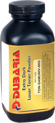 Dubaria Extra Dark Toner Powder For Samsung 1043 Toner Cartridge - 80 Grams Bottle Single Color Toner(Black)