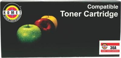 Komet Cartridges 436A Laser Black Ink Toner