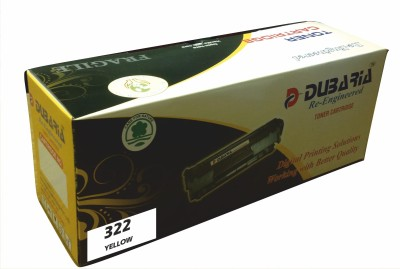 Dubaria 322 Cartridge Yellow Ink Toner Dubaria Toners