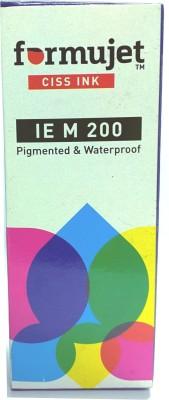 Formujet IE M 200 Refill Ink For Epson M100 / M200 / L100 / L110 / L200 / L210 / L220 / L300 / L350 / L355 / L365 / L550 Black Refill CISS Ink - 70 ML Bottle Black Ink Single Color Ink(Black)