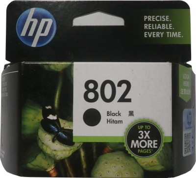 HP 802 Single Color Ink Cartridge(Black)