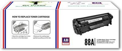 AB Cartridge Compatible 88A / CC388A Cartridge - For Use in HP Laserjet P1007, P1008, P1106, P1108, M1136 , M1213nf, M1216nfh , M1218nfs , M126nw, M128fn Single Color Toner(Black)