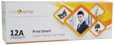 Clublaptop 12A Single Color Ink Toner(Black) at flipkart