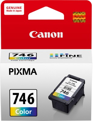 Canon CL746 Tricolor Ink Catridge(Magenta, Cyan, Yellow) at flipkart