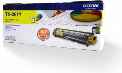 Brother Brother TN 261 Yellow Toner Cartridge Single Color Ink Toner(Yellow)