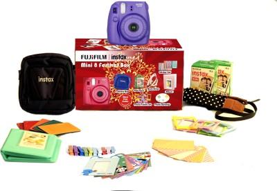 Fujifilm Instax Mini 8 - Festive Box Instant Camera(Purple) 1