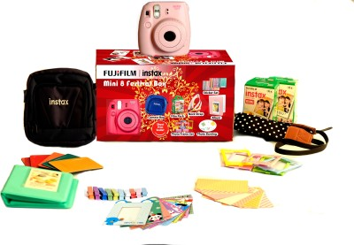 Fujifilm Instax Mini 8 - Festive Box Instant Camera(Pink) 1