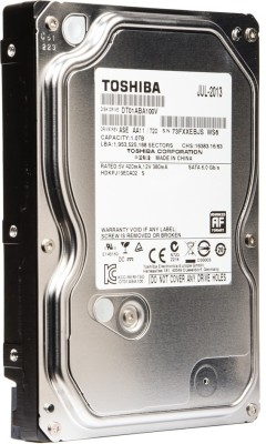 Toshiba AV 1 TB Desktop Internal Hard Disk Drive (DT01ABA100V) at flipkart