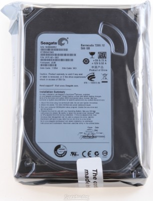 Seagate Barracuda 500 GB Desktop Internal Hard Disk Drive (ST3500320NS) at flipkart