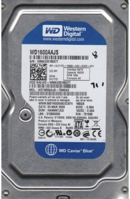 WD Caviar 160 GB Desktop Internal Hard Disk Drive (WD1600AAJS)