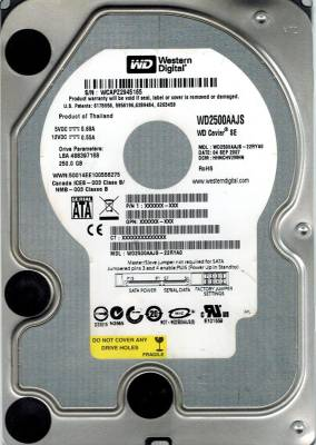 WD-(WD2500AAJS)-250GB-Desktop-Internal-Hard-Disk