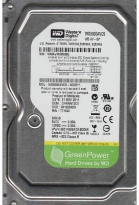 WD AV-GP 500 GB Desktop Internal Hard Disk Drive (WD5000AVCS-632DY1)