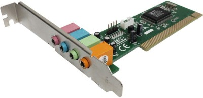 Zebronics SC-4CH PCI Internal Sound Card  available at flipkart for Rs.475