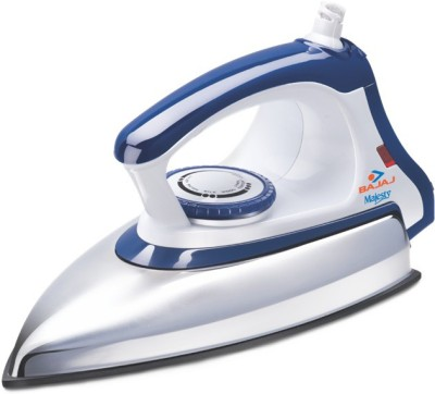 Bajaj Majesty DX 11 1000 W Dry Iron(White, Blue)