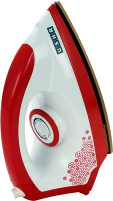 Usha Ei 3302 Gold Dry Iron Red