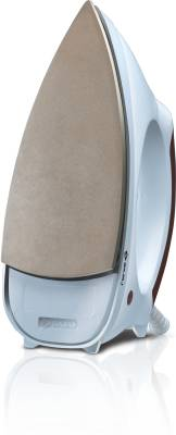 Bajaj Majesty Esteela Dry Iron (White, Copper)