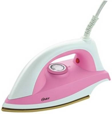 Oster 2010 1000 W Dry Iron (White & Pink)