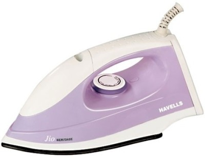 Havells Jio Heritage Dry Iron(Purple)  available at flipkart for Rs.804