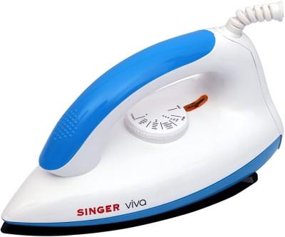 Singer Viva 1000 W Dry Iron(Blue)