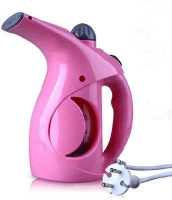 CPEX Garment Steamer Portable Handheld Clothes Steam Iron Machine and Facial Cum Garment Steamer(Blue, Pink, White)