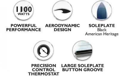 Philips-HI113-1000W-Dry-Iron