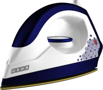 Usha Ei 3302 Gold Dry Iron Blue