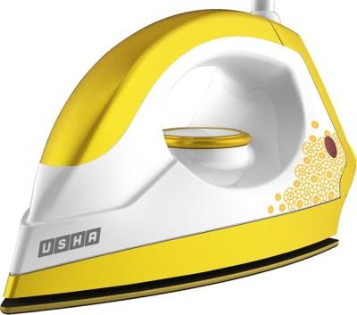 Usha EI 3302 Gold 1100 Watts Dry Iron Sulphur Yellow