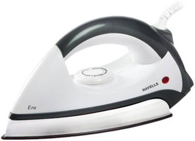 Havells Era Dry Iron (Grey and White)