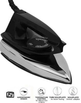 Indigo Mery 750W Dry Iron (Black)