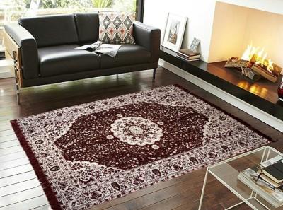 The Fresh Livery Multicolor Chenille Carpet(145 cm  X 205 cm) at flipkart